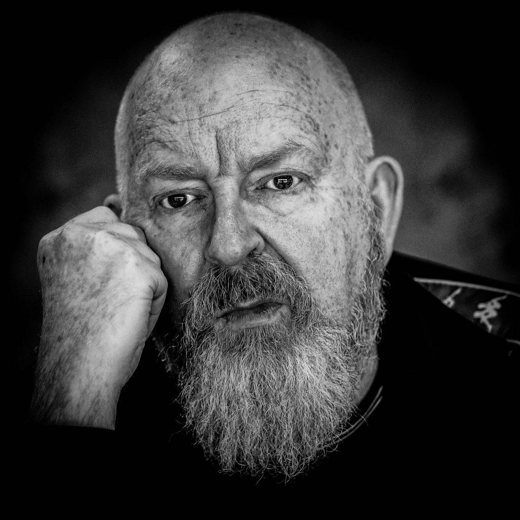 Alan McGee Studio Portrait Photo