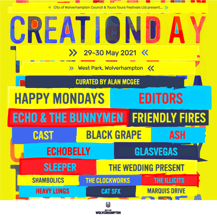 Announcing a brand new festival for 2021: Creation Day
