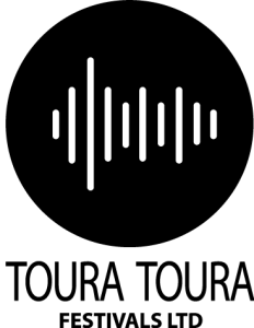 Toura Toura Festivals Logo in black