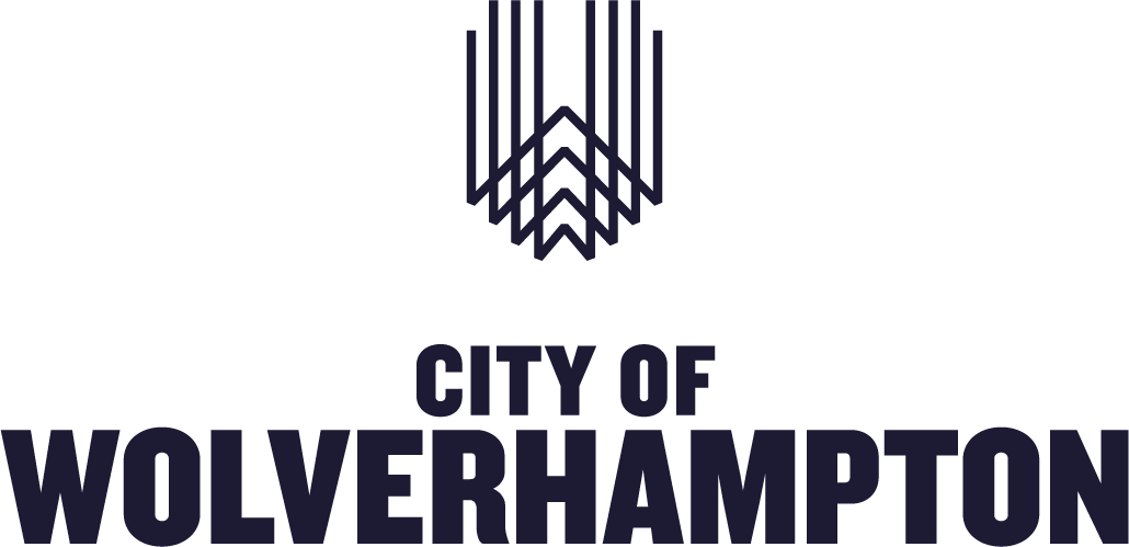 City of Wolverhampton Logo with Abstract Icon