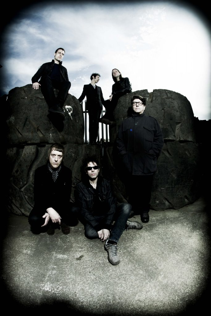 Echo and the Bunnymen Band Photo with Vignette